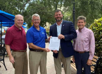Paul Kimbel was appointed to serve on the Board of Directors of the Florida Veterans Foundation